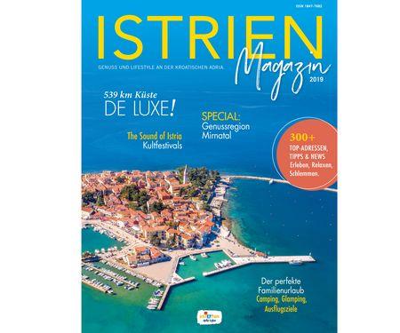 Istrien Magazin 2019 – jetzt bestellen