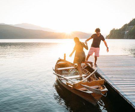 Romantik-Kreuzfahrten für zwei Verliebte